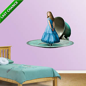 Alice Fathead Wall Decal